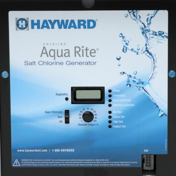 hayward aqr aqua rite salt water chlorinator control box. Black Bedroom Furniture Sets. Home Design Ideas