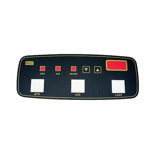 LG Digital 3-Button Faceplate