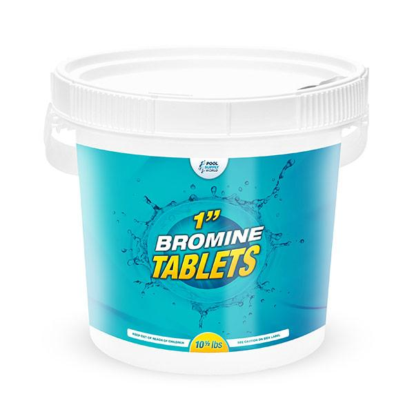Bromine Tablets 10-1/2lb Bucket