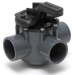 3Port Diverter Valve 1.5 in. PVC