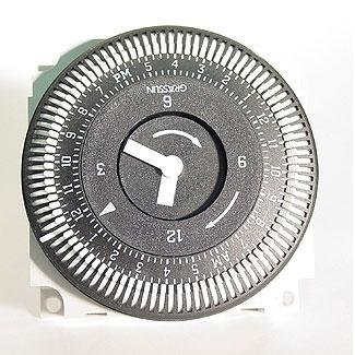 GRASSLIN TIME CLOCK 110V 15A 60HZ 24HR 5 LUG