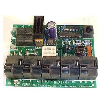 Circuit boards spa builders lx 10 alpha rev circuit for Spa builders