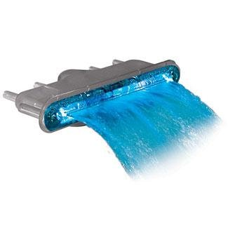 WATERWAY LIGHT LED WATER FEATURE AQUA FALL 8IN