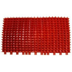 PVC BRUSH - RED DOLPHIN - SINGLE - 6101303