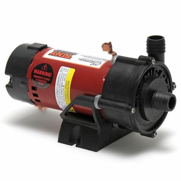 Waterway Tiny Might 1/16HP Spa Pump, 1 in. x 1 in. Unions, 3' NEMA Cord, 115V