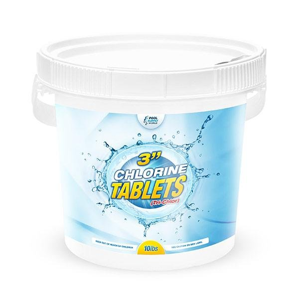 3 in. Chlorine Tablets 10lbs