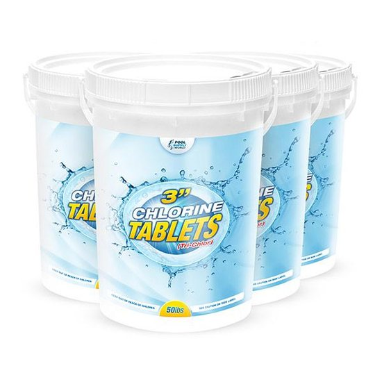 3 in. Chlorine Tablets 200lbs