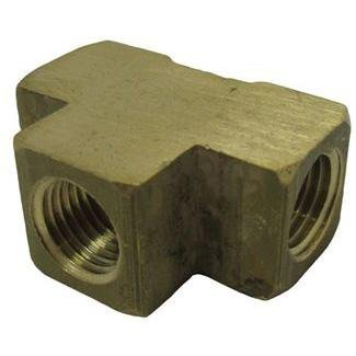 TEE, 1/4 in. BRASS FPT - 06101-04