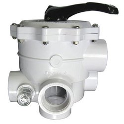 Hayward SP0715ALL Vari-Flo Control 2in. FIP Valve Side Mount In Line Sight Glass, White