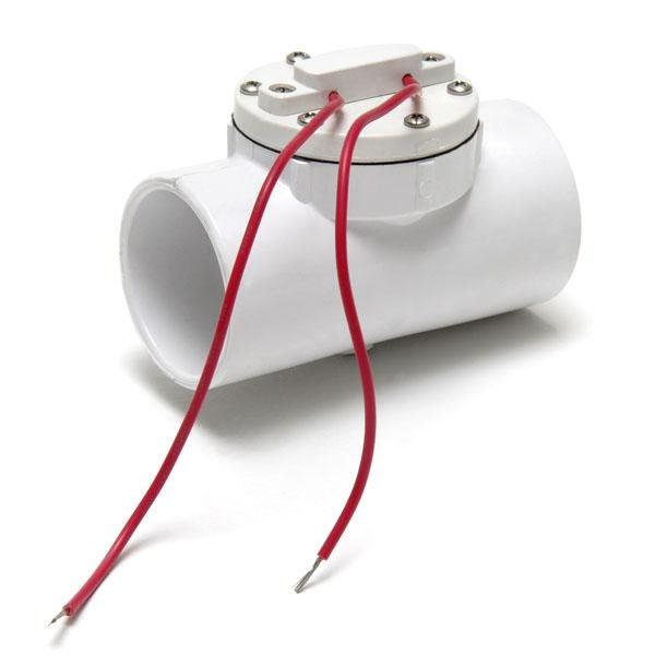 Allied Innovations Flow Switch 1-1/2 in. PVC Slip Connection 1 AMP Aqua Alarm 206 5-20-0003