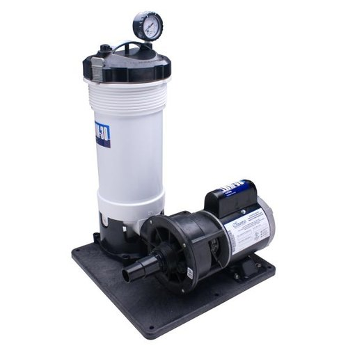 Waterway 520 4070lt above ground filter system twm 30 for Pool filter equipment