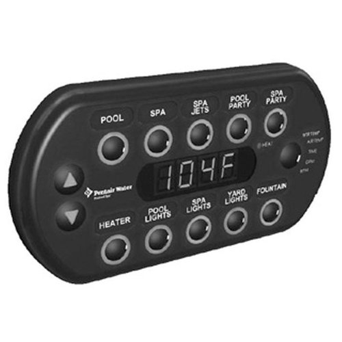 Pentair Intellibrite Controller Remote Light Control Part: Pentair 521176 SpaCommand Spa-Side Remote Control With 150