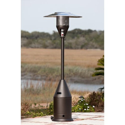 well traveled living select series patio heater mocha