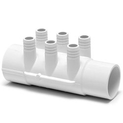 Spa Manifold 2 in. S x 2 in. SPG 6-P