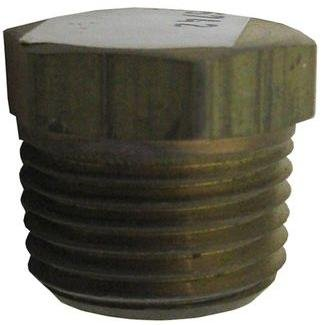 PLUG, PIPE BRASS 1/2 IN - 06121-08