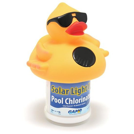 Game Solar Lighted Derby Duck