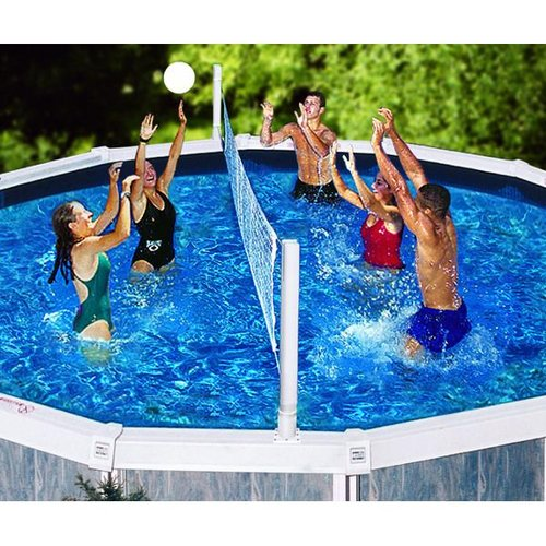 Swimline 9191 above ground pool jame combo basketball and - Is there sales tax on swimming pools ...