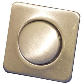 Len Gordon Square Satin Nickel