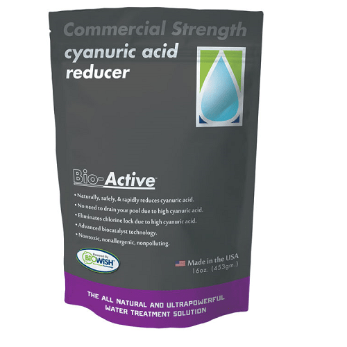 Bio Active 14311 Commercial Cyanuric Acid Reducer 16oz