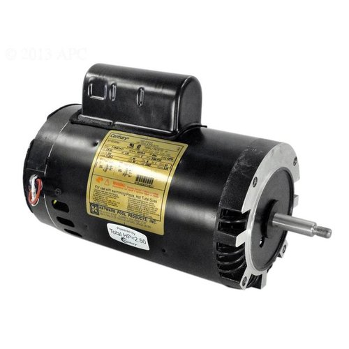 Hayward spx1620z2m motor 2 1 2 hp 2 speed 230v super 2 pump for Hayward 1 1 2 hp pool pump motor