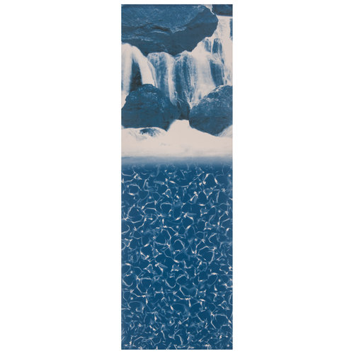 Swimline Overlap Style Waterfall Pattern Above Ground Pool Liner
