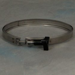 5 and 6 Port Top Feed Stainless Steel Band Clamp