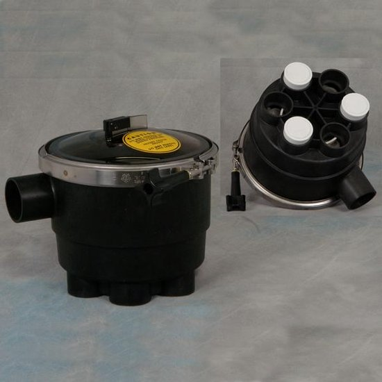 1-1/2 in. 3 Port Low Profile Water Actuated T-Valve