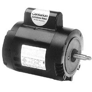 Century a o smith b654 e plus 56j c face 1hp full rated for Century centurion pool pump motor