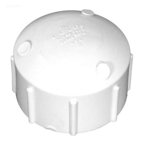 Pentair Pool Products Cap, Threaded 1-1/2 in.