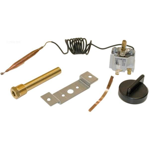 Well and Knob for H-Series Heater Hayward HAXTST1930 Thermostat with Bracket