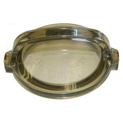Hayward Pool Products Inc. Cover, Strainer, Clear Lexan with O-Ring