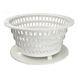 Waterway Dyna-Flo Low Profile Basket Assembly - White