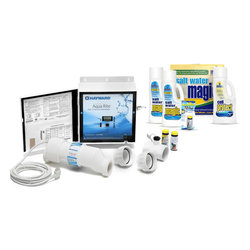 Hayward Aqua Rite Ultimate Salt Water Startup Kit Includes AQRITE Generator, Salt Cell, and Salt Water Magic Kit