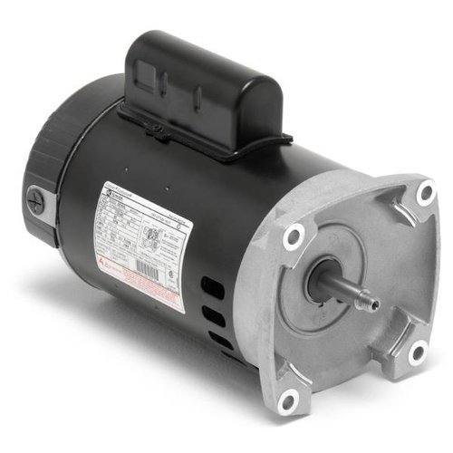 Century a o smith b2841 e plus 56y square flange 1hp full for Square flange pool pump motor