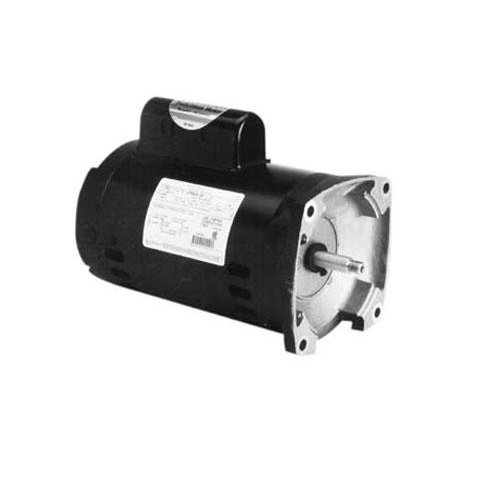 56Y Square Flange 3/4HP Full Rated Pool and Spa Pump Motor, 7.1/14.2A 115/230V