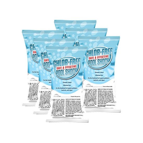 PoolSupplyWorld Chlorine-Free Granular Shock Multi-Packs