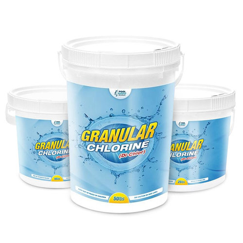 PoolSupplyWorld Di-Chlor Granular Stabilized Chlorine Buckets
