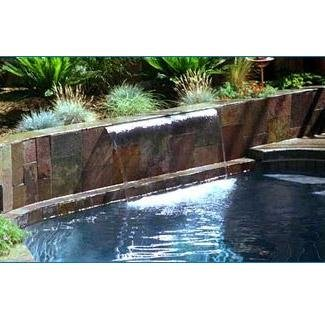 1000 Waterfall Stainless 6in