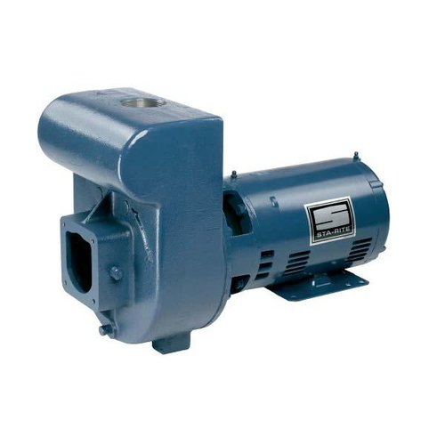 Sta rite dhj3 170 d series 5hp three phase cast iron for Sta rite pool pump motors