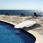 FreeStyle Diving Board with D-Lux Stand, White