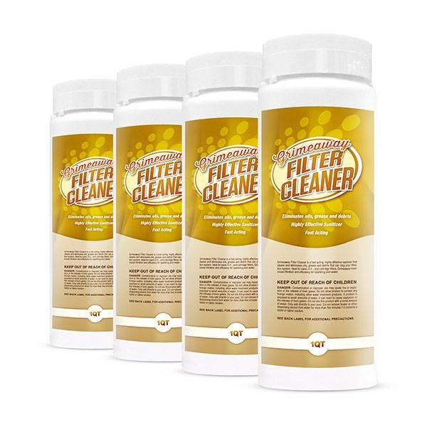 Filter Cleaner 1 qt 4 pk