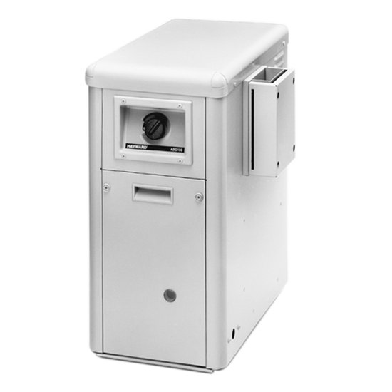 Hayward H100ID1 H-Series 100,000 BTU, Natural Gas, Above Ground Pool and Spa Heater