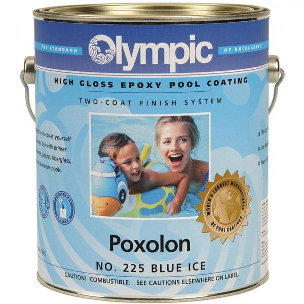 Olympic Poxolon White Two Coat Epoxy