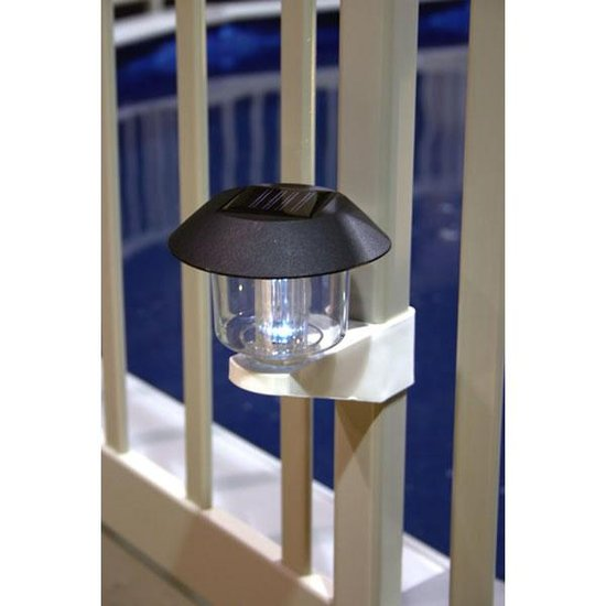 Solar Fence Light
