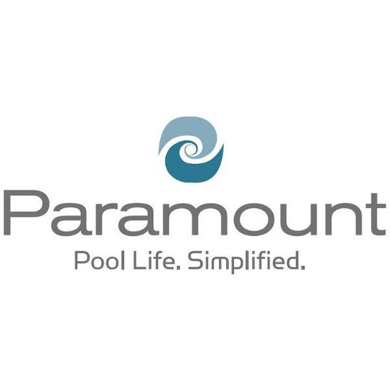 SDX Drain Cover w/Screws Gray - Paramount Logo