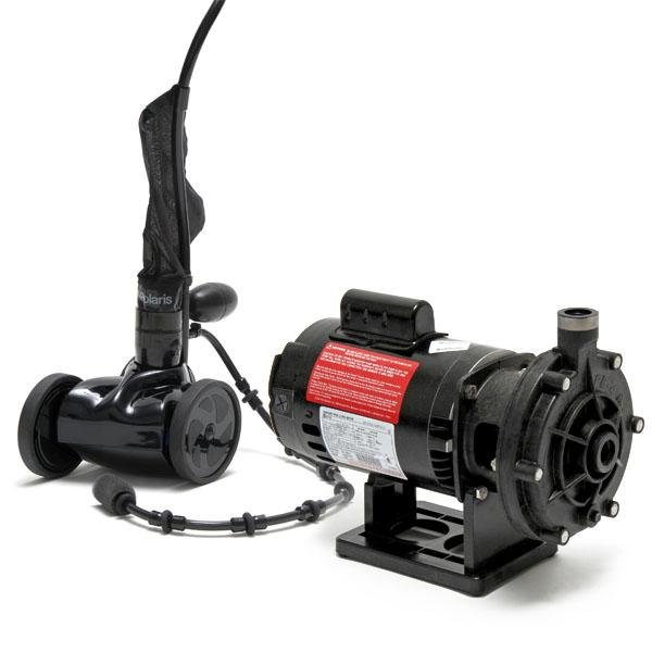 Polaris 280 BlackMax Pool Cleaner and Booster Pump