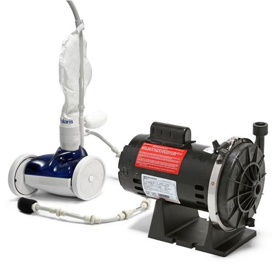 Polaris 280 Pool Cleaner and Booster Pump