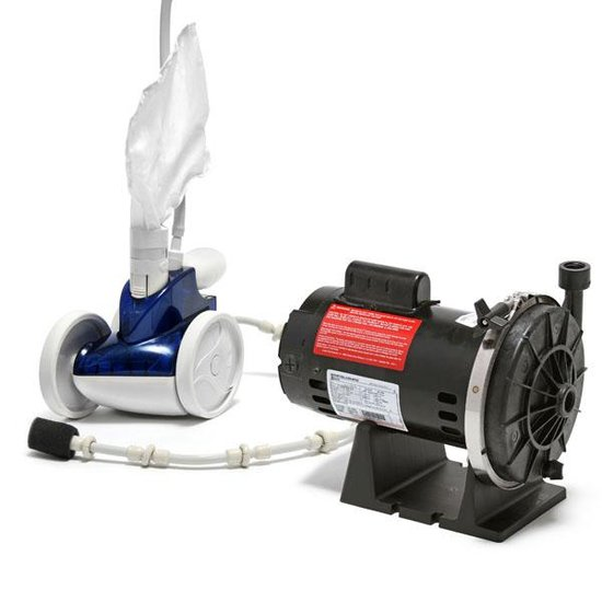 Polaris 380 Pool Cleaner and Booster Pump