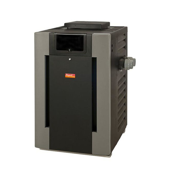 Raypak 014939 Digital Cupro-Nickel Natural Gas 240,000 BTU Pool Heater
