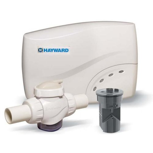 Hayward Salt Swim 3c Pro Kit Salt Chlorination For In Ground Pools With Compression Unions And